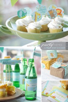 Jungle Baby Shower Party Kit