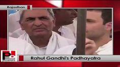 Rahul Gandhi on Padayatra in Rajasthan, says Congress won't let BJP grab...