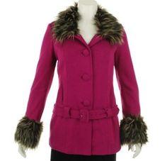 INC International Concepts Removable Faux Fur Trim Coat Infusion XS INC International Concepts. $88.27