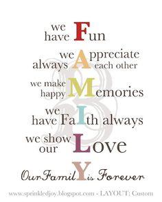 FAMILY...