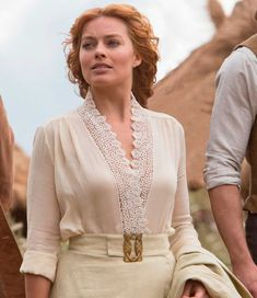 Tarzan filme 2016, Jane (Margot Robbie) vestido branco, figurino