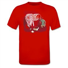 Zebra Bricks T-Shirt
