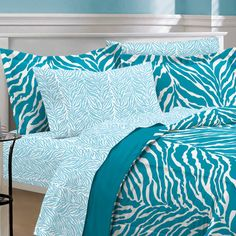 Found it at Wayfair - India 5 Piece Zebra Bed in a Bag Set