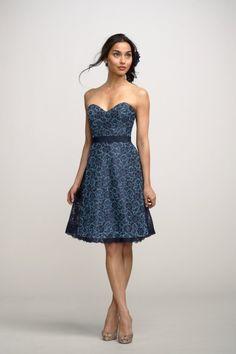 Watters Maids Dress Hydrangea Style 2252   Watters.com