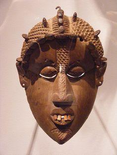 Mask, Bassa people, Liberia