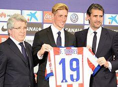 Nueva equipacion fernando Torres Atletico Madrid 2014-2015
