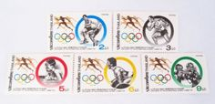 Beautiful Thai Stamps Collecting Centenary of the International Olympic Commitee 1994 Unused Thailand by SUWANNABHUMI. $43.77