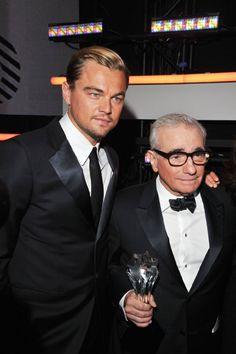 Leonardo DiCaprio and Martin Scorsese