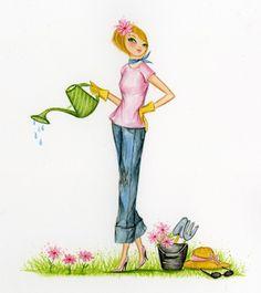 Garden Fashionista - Bella Pilar
