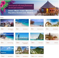 Descopera cele mai frumoase destinatii exotice! Dubai City, Varadero, Punta Cana, Riviera Maya, Phuket, Mai, Cuba, Exotic, Events