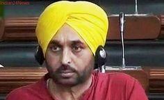 Bhagwant Mann urges Lok Sabha Speaker to expunge PM's 'derogatory' remark against him