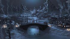 Winter Night, 1920x1080 Maud Meder