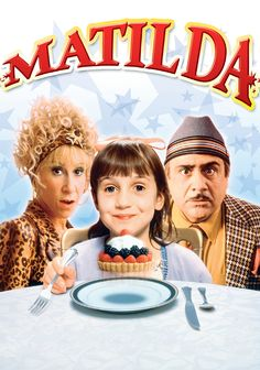 Matilda is my all-time favorite movie! Matilda Movie, Danny Devito Matilda, Roald Dahl Family, Movies Showing, Movies And Tv Shows, Old Movies Classic, Mara Wilson, Young Girl Models, Movies