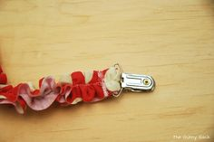 The Gunny Sack: Ruffled Binkie Clip Tutorial