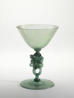 Antique stemware, circa 1600-1650