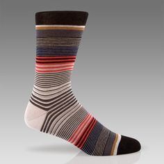 paul smith striped socks.  for your favorite man.    (i love to watch my husband meander around in these socks.  makes me chuckle.)  $33