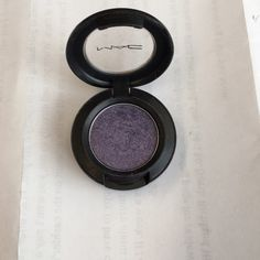 MAC Eyeshadow Slightly used MAC eyeshadow! Not broken! Color; Amethyst (lustre) ~ Will bundle if need be. MAC Cosmetics Makeup Eyeshadow