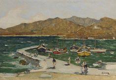 GEORGES COSMADOPOULOS (Greek, 1895-1967); Mykonos