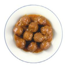 Sue Bee #Honey Petty Party Balls    Ingredients  1 cup or 12oz. bottle of Sue Bee Honey  3/4 cup water  1/2 cup cider vinegar  1/2 cup ketchup  3 Tbsp cornstarch  2 tsp soy sauce  1 tsp fresh garlic  1 package frozen meatballs (20-24)    Directions  In a medium bowl, mix together the honey, water, vinegar, ketchup, cornstarch, soy sauce and garlic.  Place frozen meatballs in a slow cooker.  Pour sauce over the meatballs and cook on low for 3-4 hours, stirring occasionally.