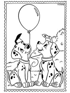 101 dalmatians coloring pages 11