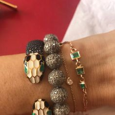 Bvlgari Serpenti, Turquoise Bracelet, Beaded Bracelets, Accessories, Jewelry, Fashion, Moda, Jewlery, Jewerly