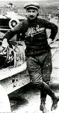 Ugo Sivocci , winner XIV Targa Florio (1923) with Alfa Romeo RL TF #13