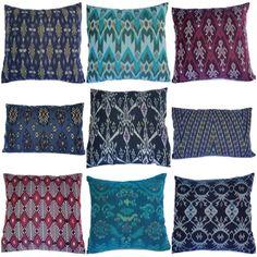 Throw pillows -- color scheme #3