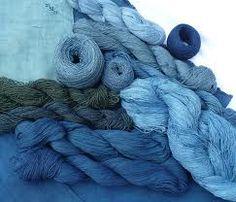 indigo dyed cotton, wool, silk and linen yarns by mary blue jean Azul Indigo, Bleu Indigo, Indigo Dye, Love Blue, Blue Green, Blue And White, Blue Berry, Delft, Cobalt