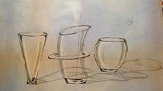 Ejercicio de cristal (Vasos de shots) - Sarai Quiroz.