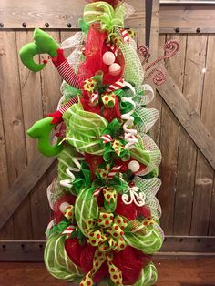 Tomato cage diving elf Christmas tree 2016