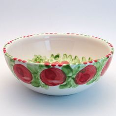 werna Serving Bowls, Tableware, Red, Green, Tablewares, Dinnerware, Dishes, Place Settings, Mixing Bowls