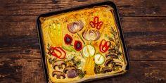 Συνταγή για ανοιξιάτικο ψωμί -Σαν πίνακας ζωγραφικής, πεντανόστιμο και πολύχρωμο | GASTRONOMIE | iefimerida.gr Sheet Pan, Fine Dining, Springform Pan