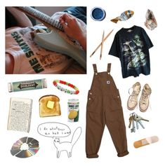 """""""ready to take on the world"""" by bananaboyy on Polyvore featuring Miss Bibi, Lime Crime, Converse and Miss Selfridge"""