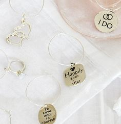 Wedding Wine Charms | Bachelorette Party Gifts