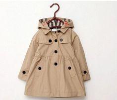 Designer Girls Trench Coat