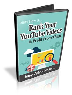 How To Rank Your YouTube Videos - Video Series - Masters Resale Rights item for sale