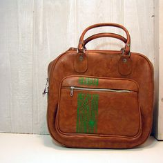 faux bois carry on bag by anotherjamiedavis on Etsy, $94.00