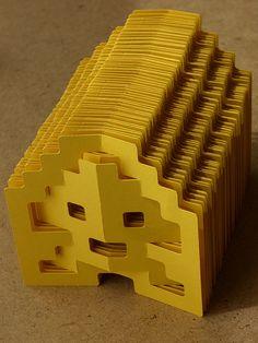 paperinvasion! by elod beregszaszi, via Flickr