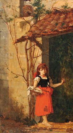 """James Bertrand (1823-1887), """"Le petit chaperon rouge"""" by sofi01, via Flickr"""