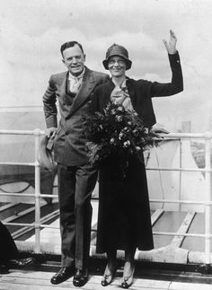 "Amelia Earhart married George Putnam on February 7, 1931.  Earhart's ideas on marriage were liberal for the time as she believed in equal responsibilities for both ""breadwinners"" and pointedly kept her own name rather than being referred to as Mrs. Putnam. When The New York Times, per the rules of its stylebook, insisted on referring to her as Mrs. Putnam, she laughed it off. GP also learned quite soon that he would be called ""Mr. Earhart.""["