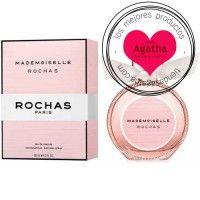 """El perfume femenino Mademoiselle de Rochas es un Eau de Parfum Spray floral frutal. Creada por Anne Flipo, la marca Rochas ha creado una fragancia sutil y deliciosa, basada en el """"Frenchic"""", el movimiento chic francés. Inspirada en la moda de parís, en su elegancia y en su alegría. Con un toque picante que hace de este perfume una fragancia audaz. Moda Paris, Parfum Spray, Blush, Perfume, Floral, Beauty, French Girls, French Tips, French Chic"""
