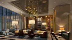 Hotel Design Ideas: Four Seasons Hotel In Dubai By Tihany Design | Hotel Interior. Modern Interior Design. #hotelinteriors #hotels #fourseasons Read more: http://www.brabbu.com/en/inspiration-and-ideas/interior-design/best-design-inspiration-tihany-design