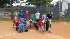 MLB hit, pitch and run day @ GBSL