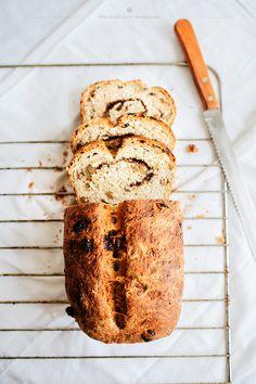 Cinnamon Raisin Walnut Bread [What Should I Eat for Breakfast Today]