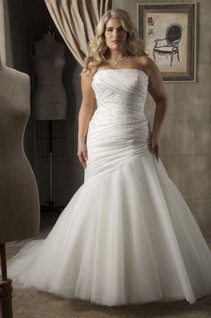 Plus Size Mermaid Wedding Dresses Cheap