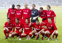 The @Liverpool FC starting XI that faced AC Milan in the 2005 European Cup Final in Istanbul #LFC