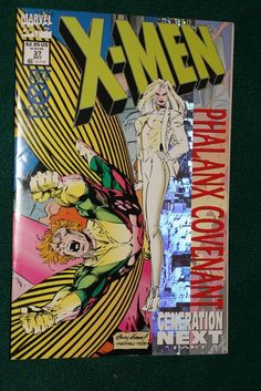 X-Men #37 1994 Marvel Comics Phalanx Coveniant Generation Next Pt 4 #Ebay #Xmen #Marvel #Phalanx #Coneniant #Generation #Banshee