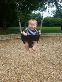 First Time Swinging!!