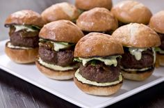 Kobe Beef Sliders with Tarragon Aioli and Caramelized Onions recipe with wine pairing!