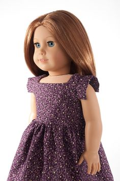 American Girl doll clothes  modern square party dress by PattiKuz, $19.75